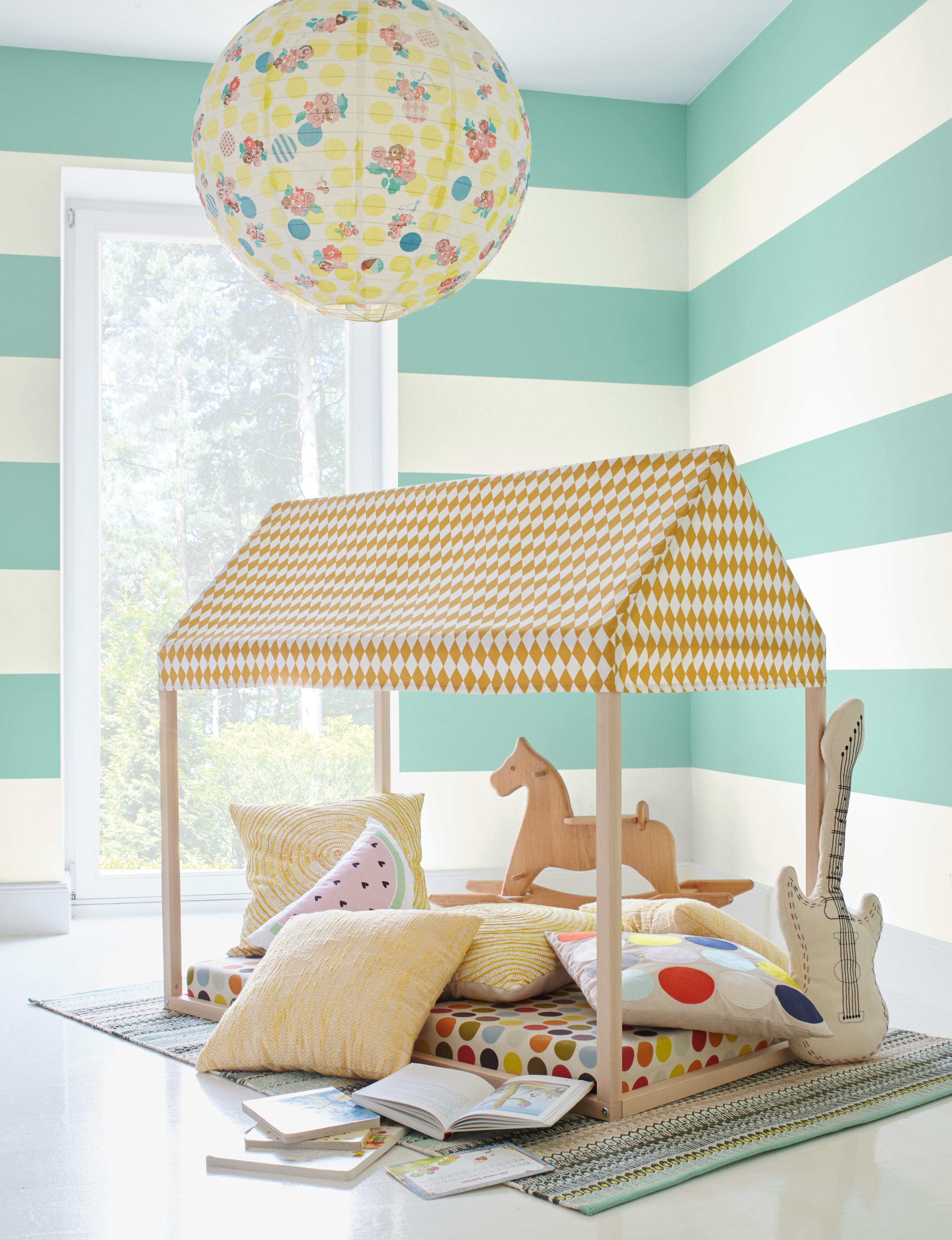 Kinderzimmer für Kleinkinder gestalten und einrichten.