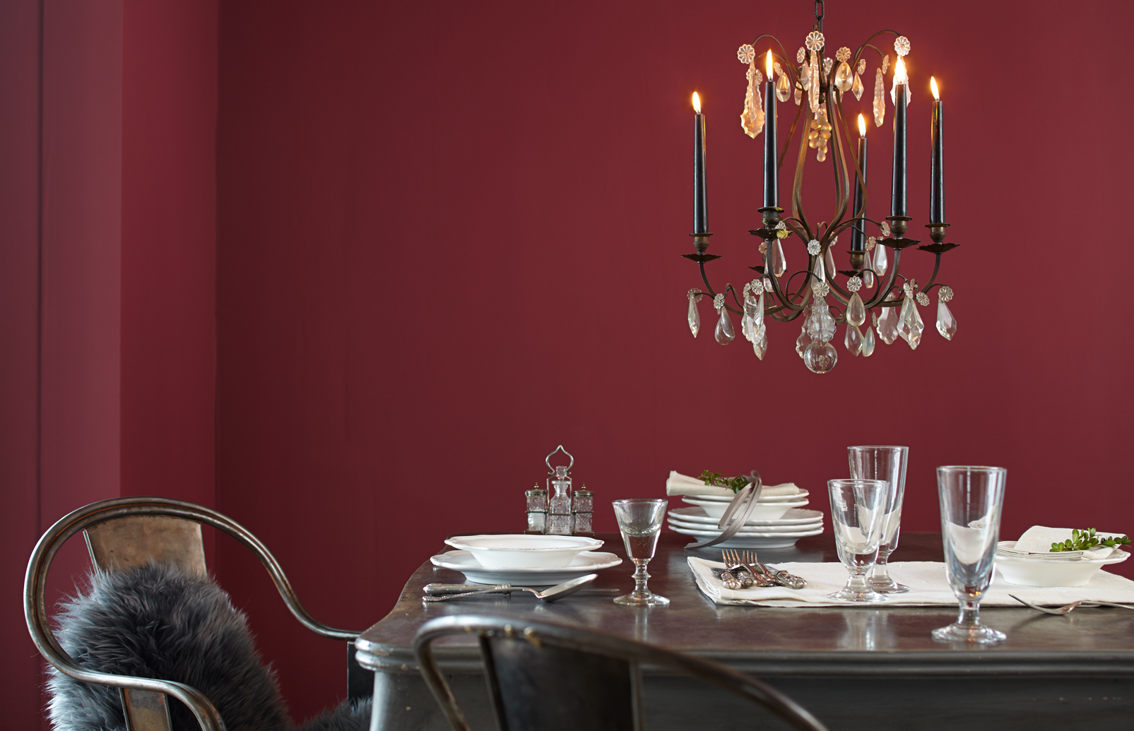 Best Rotes Esszimmer Fur Intensive Einladende Atmosphare Images ...