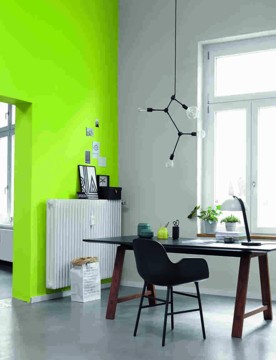 Ideen Fur Die Wandfarbe Im Arbeitsszimmer Alpina Farbe Einrichten
