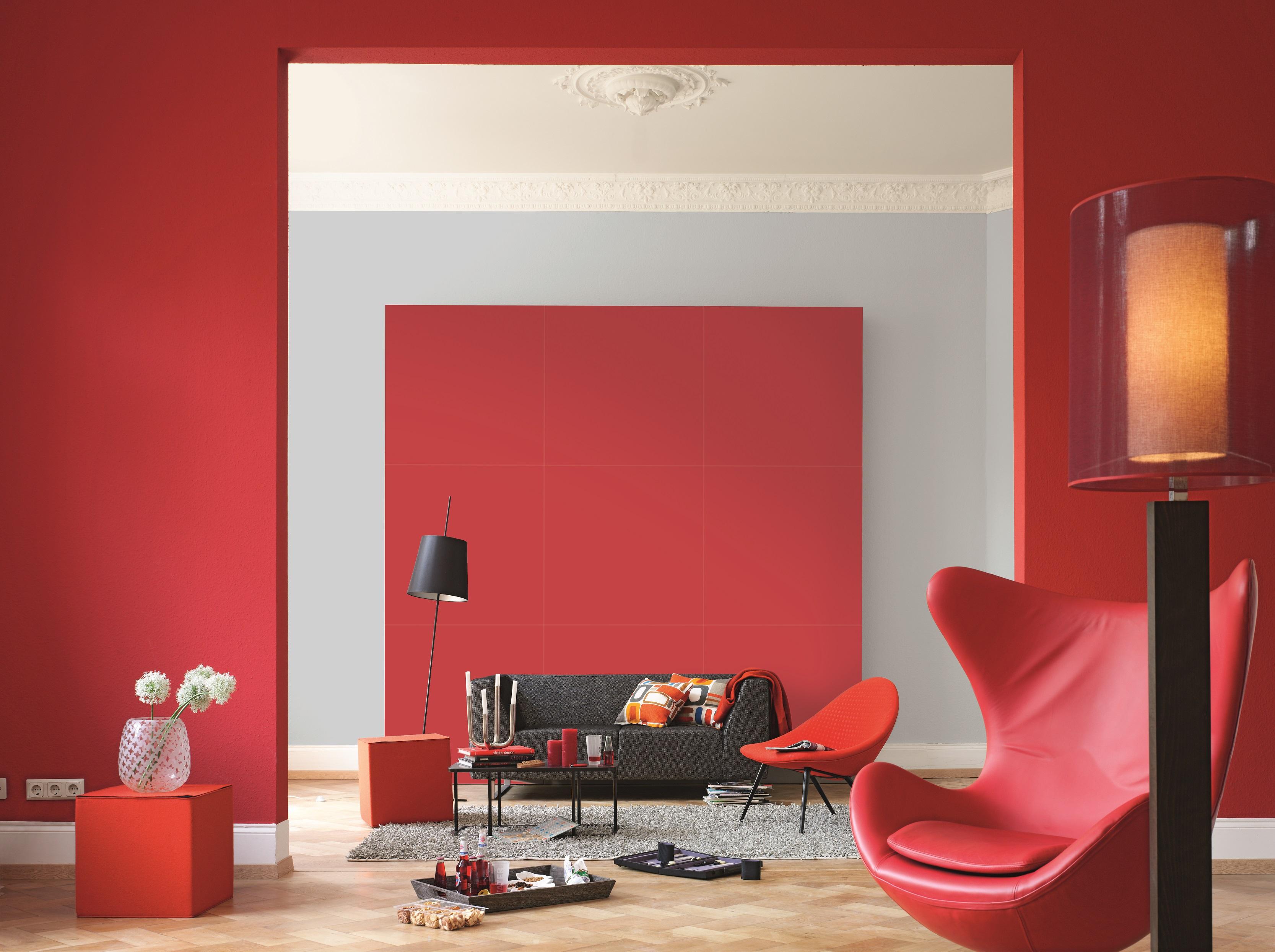 Farbwirkung von Wandfarben: Alpina Farbe & Wirkung