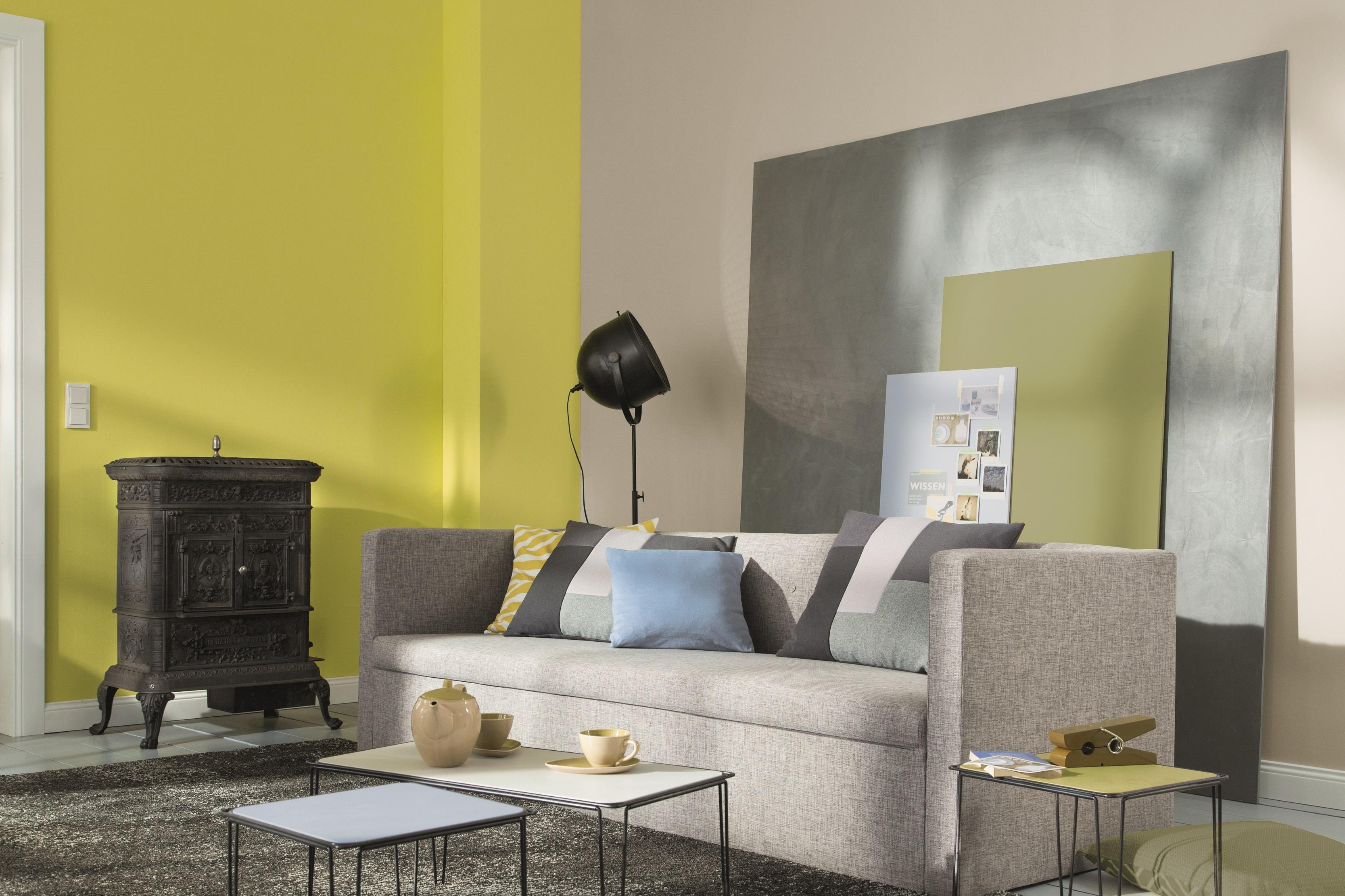 Farb wirkung von gelb im raum alpina farbe wirkung for Farben wand wirkung