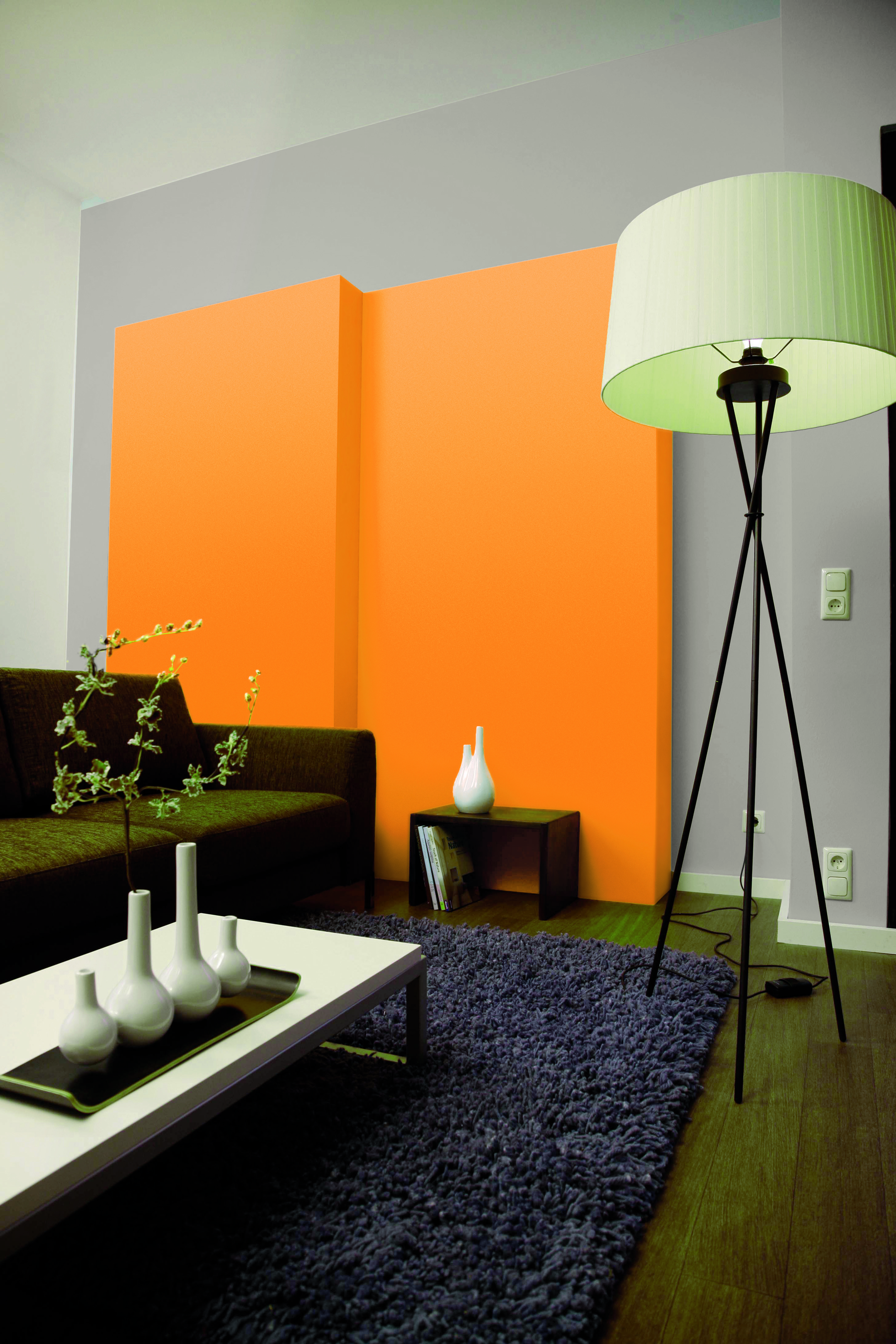 Ideen für die Wandgestaltung im Wohnzimmer: Alpina Farbe & Einrichten