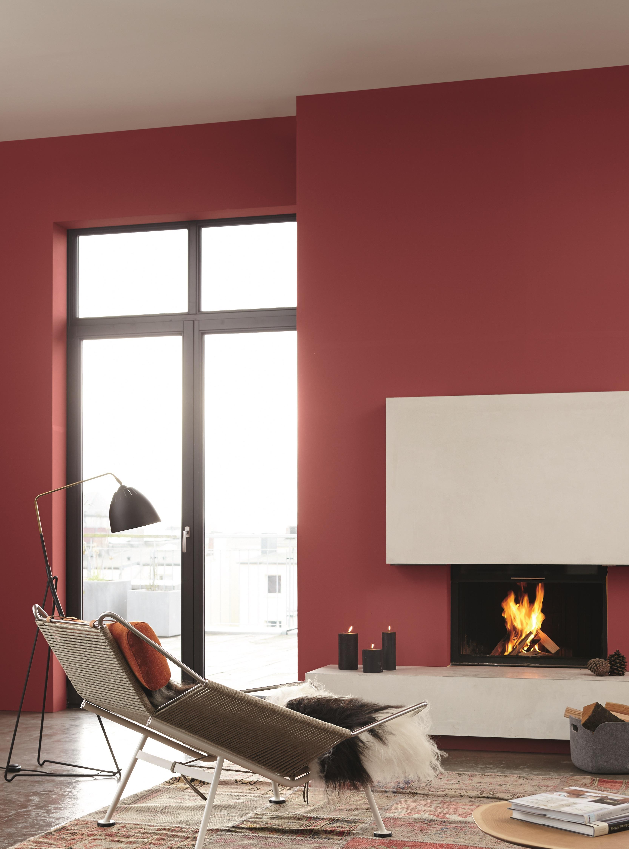 Wandgestaltung mit Winterfarben: Alpina Farbe & Inspiration