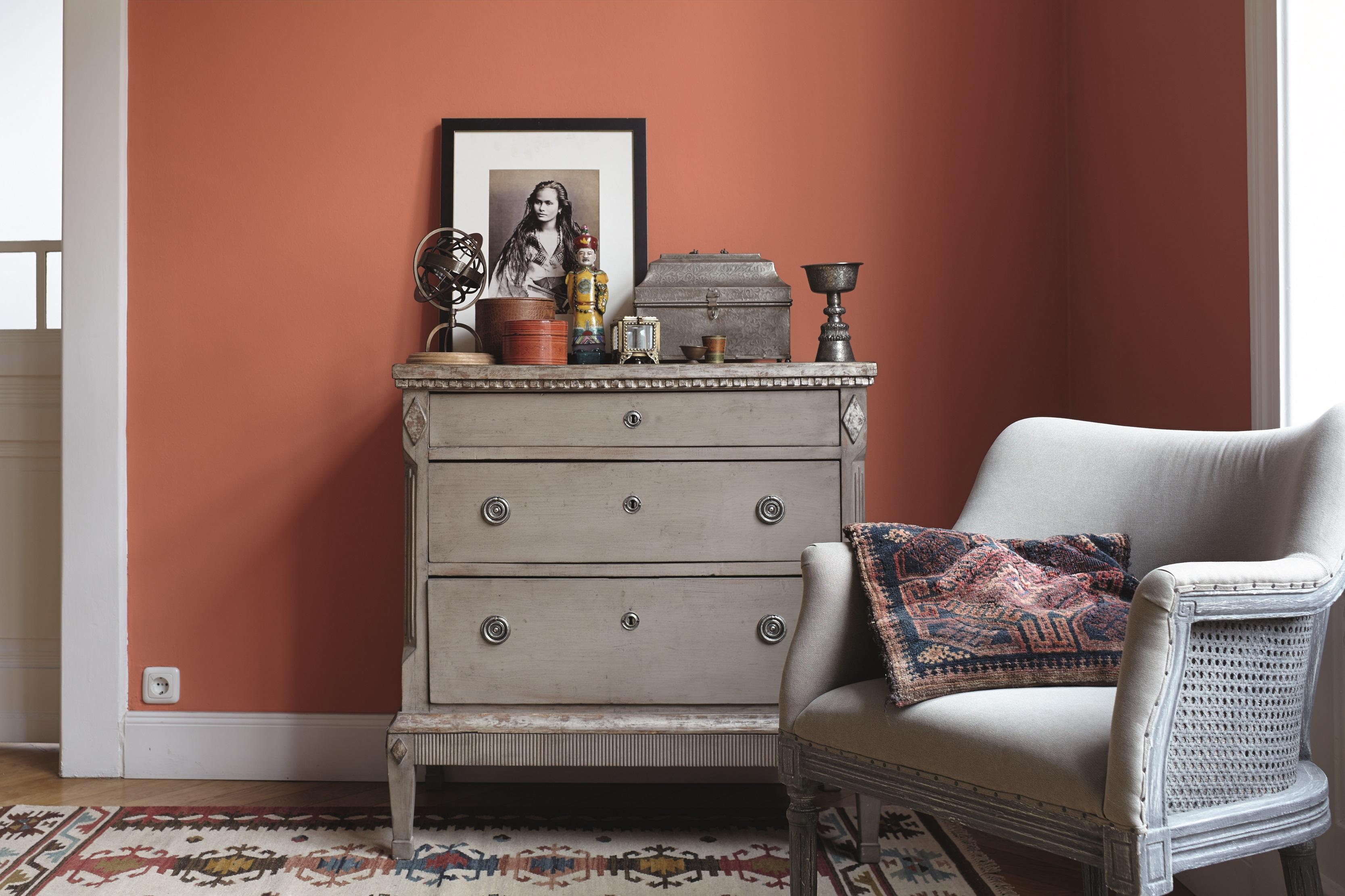 Ideen f r die raumgestaltung mit farben alpina farbe - Farbmuster wandfarbe ...