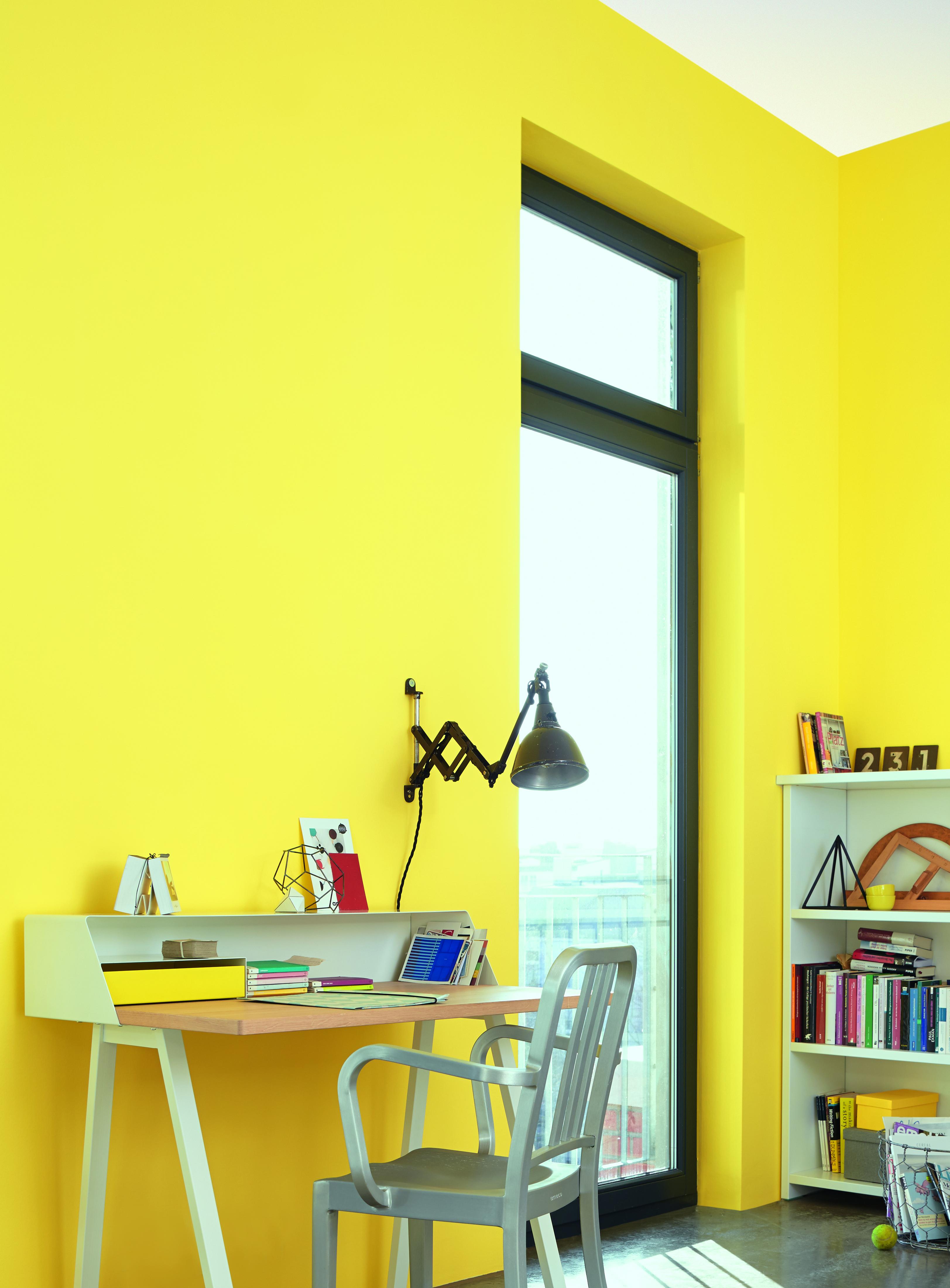 Arbeitszimmer farbgestaltung  Ideen für die Wandfarbe im Arbeitsszimmer: Alpina Farbe & Einrichten