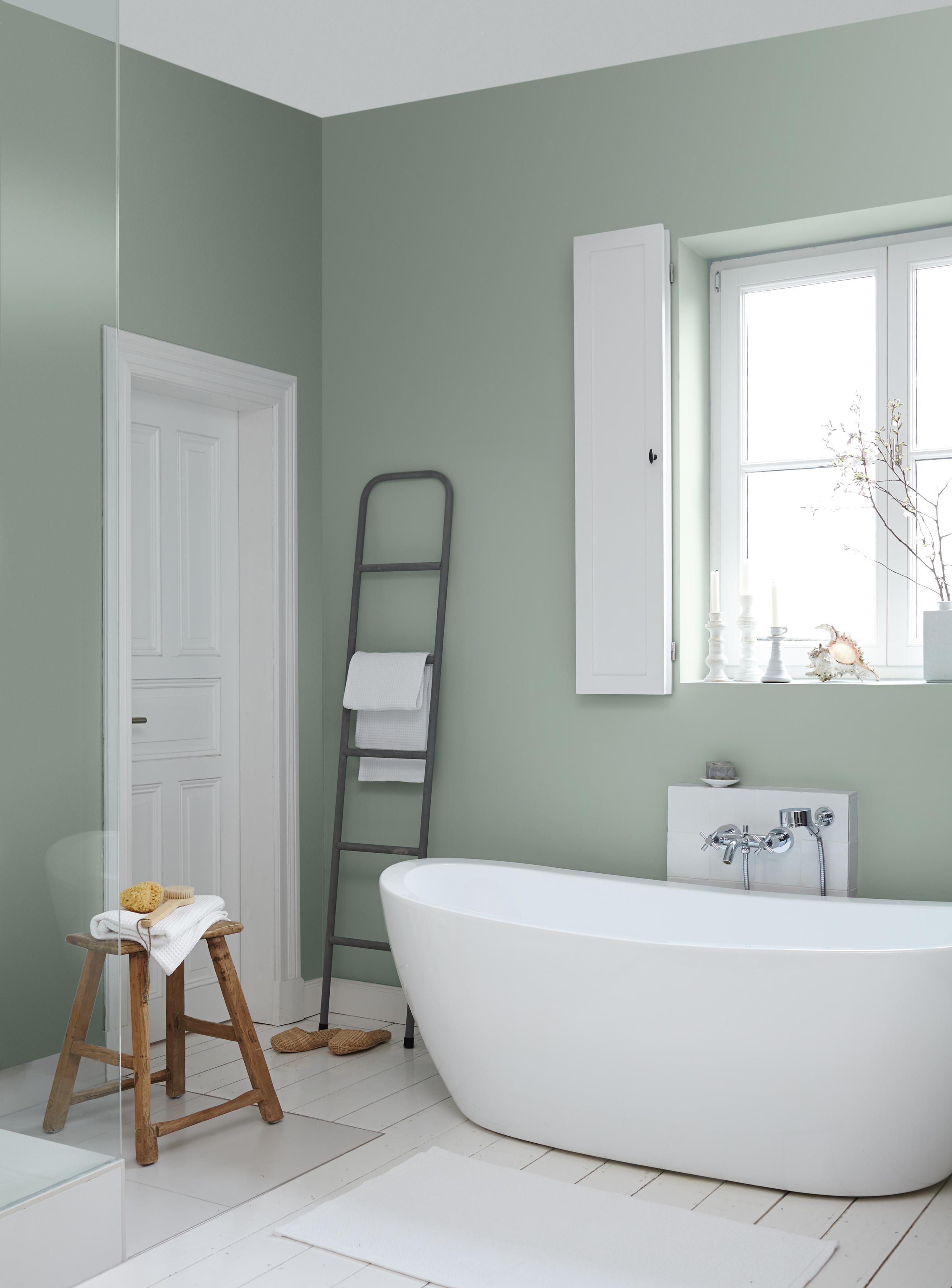 Ideen Fürs Streichen Und Gestalten Vom Bad: Alpina Farbe U0026 Einrichten,  Badezimmer Dekoo
