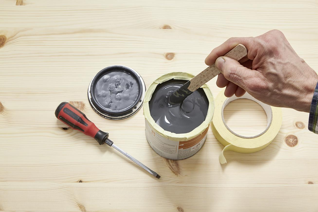 zink oder verzinkte objekte streichen alpina lackieren. Black Bedroom Furniture Sets. Home Design Ideas